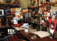 Inside Basil Jones' shop EN