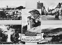 Views of Abergavenny